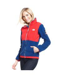 The North Face | Blue USA Village Wear Sochi Denali Fleece | Lyst