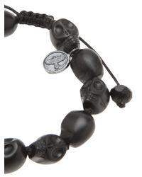 Joseph Brooks | Black Onyx Skulls Bracelet for Men | Lyst
