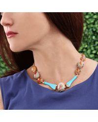 Lucifer Vir Honestus - Brown Fire Opal Necklace - Lyst