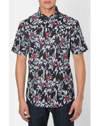 7 Diamonds | Black Ignition Short Sleeve Shirt for Men | Lyst