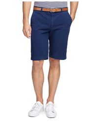 """Brooks Brothers - Blue Garment-dyed 11"""" Bermuda Shorts for Men - Lyst"""