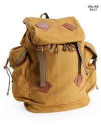 Aéropostale | Natural Solid Parachute Buckle Backpack | Lyst