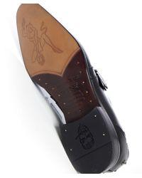 Jeffery West - Black Monk Strap Shoes for Men - Lyst