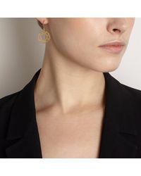 Myia Bonner - Metallic Black Brilliant Diamond Drop Earrings - Lyst