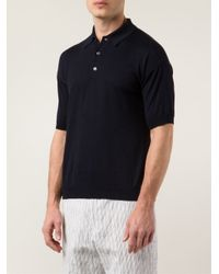Camoshita - Blue Polo Shirt for Men - Lyst