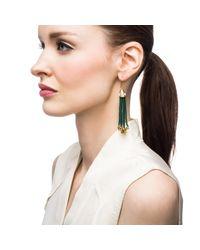 Lulu Frost | Green Nomadic Earring | Lyst