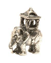 Trollbeads | Metallic 'Indian Elephant' Silver Bead | Lyst