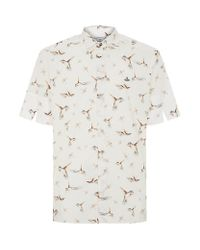 Vivienne Westwood - Natural Hummingbird Short Sleeve Shirt for Men - Lyst