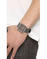 Braun - Black Classic Square Watch for Men - Lyst