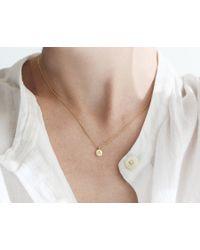 Vrai & Oro | Metallic Charm Necklace | Lyst