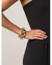 Vaubel | Metallic Chunky Link Chain Bracelet | Lyst