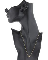Lana Jewelry | Metallic Love Charm Necklace | Lyst
