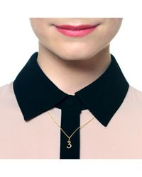 Lulu Frost | Metallic Code Number 14kt #4 Necklace | Lyst