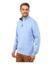 Vineyard Vines | Blue Whale Jersey Quarter Zip for Men | Lyst