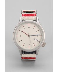 Urban Outfitters - Red Komono Magnus Paravent Watch for Men - Lyst