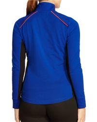 Lauren by Ralph Lauren | Blue Plus Stretch Track Jacket | Lyst