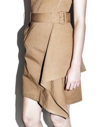3.1 Phillip Lim - Multicolor Ruffled Trench Dress - Lyst