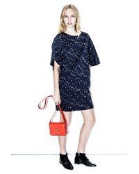 3.1 Phillip Lim | Blue Bouclé Short-sleeve Dress | Lyst