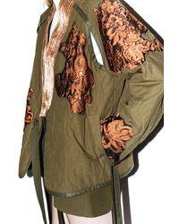 3.1 Phillip Lim - Blue Embellished Utility Kimono Jacket - Lyst