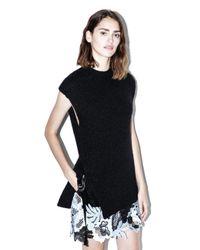 3.1 Phillip Lim   Black Sleeveless Alpaca Sweater   Lyst