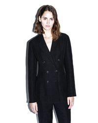 3.1 Phillip Lim | Black Jute-silk Blazer | Lyst