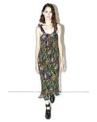 3.1 Phillip Lim   Black/multi Floral Pleated Maxidress   Lyst