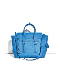 3.1 Phillip Lim - Blue Pashli Medium Satchel - Lyst