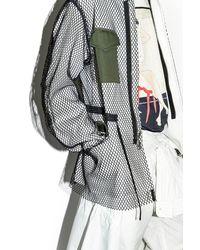 3.1 Phillip Lim - White Mesh Field Jacket for Men - Lyst