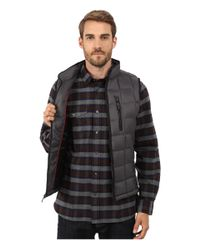 Rainforest | Gray Quilted Vest W/ Thermoluxe Insulation for Men | Lyst