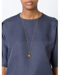 True Rocks - Metallic Large 'star' Necklace - Lyst