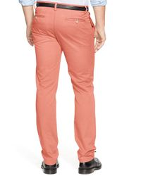 Ralph Lauren | Orange Polo Straight Fit Chino Pants for Men | Lyst