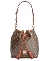 Dooney & Bourke | Brown Kendall Drawstring | Lyst