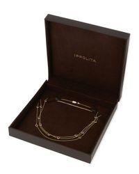 Ippolita | White 18k Lollipop Mini Composite Ruby Station Necklace | Lyst
