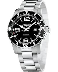 Longines | Black L36414566 Hydroconquest Watch for Men | Lyst