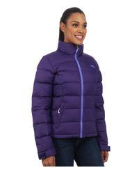 The North Face - Purple Nuptse 2 Jacket - Lyst