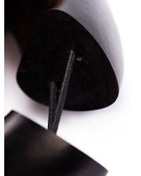 Monies | Black Foil Section Square Bangle | Lyst