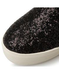 Steve Madden   Black Bubah Slip On Fashion Sneakers   Lyst