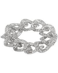 "Roberto Coin | Metallic Skyline Link Bracelet 8"" | Lyst"