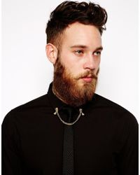 ASOS - Metallic Collar Tips with Pharaohs for Men - Lyst