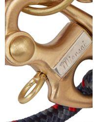 Miansai - Blue Picton Navy Rope Keychain Bracelet for Men - Lyst