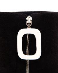 J.W.Anderson - Black Wool Neckband - Lyst
