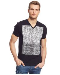 INC International Concepts | Black Nova V-neck T-shirt for Men | Lyst