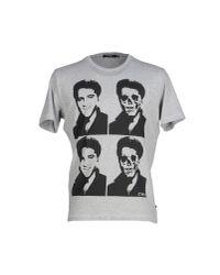 CoSTUME NATIONAL - Gray T-shirt for Men - Lyst