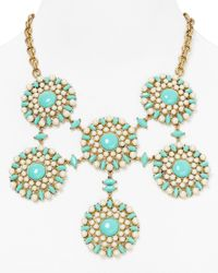 Carolee - Blue Little Surfer Girl Statement Necklace 18 - Lyst