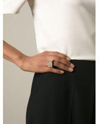 Chloé | Metallic 'eleanor' Ring | Lyst