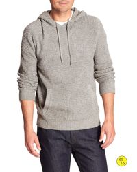 Banana Republic - Gray Factory Pullover Hoodie for Men - Lyst