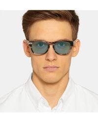 Gucci | Blue Square-Frame Acetate Sunglasses for Men | Lyst