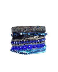 Hipanema - Blue 'lagoon' Bracelet - Lyst
