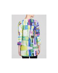 Nally & Millie - Multicolor Stained Glass Print Tunic - Lyst