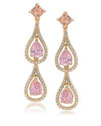 Carolee | Metallic Chandelier Earrings | Lyst